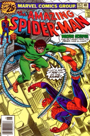 The Amazing Spider-man - 157 cover