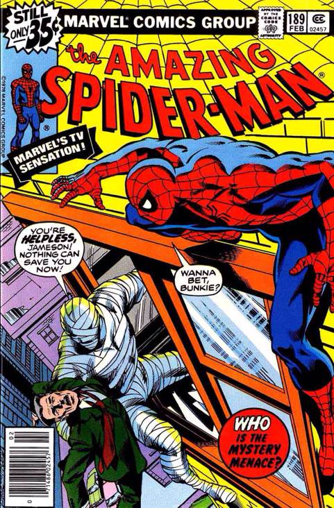 The Amazing Spider-man - 189 cover