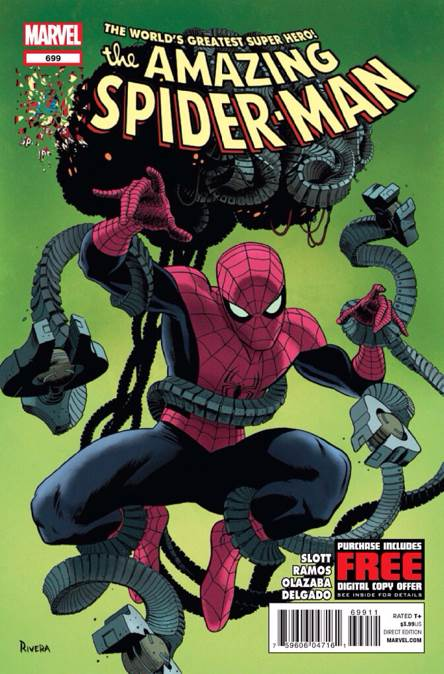 The Amazing Spider-man - 699 cover