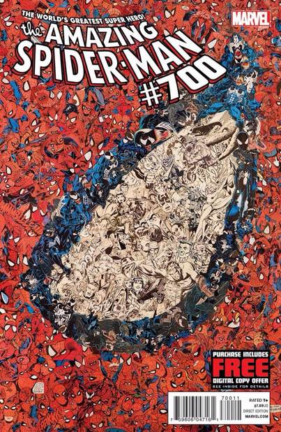 The Amazing Spider-man - 700 cover