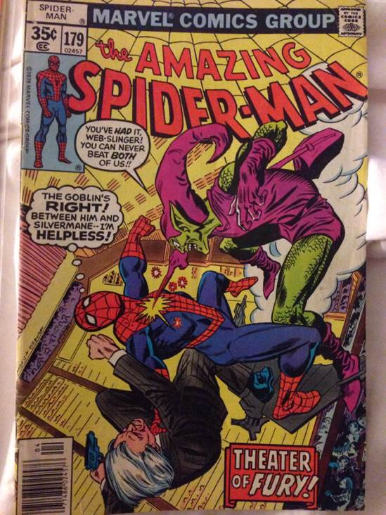 The Amazing Spider-man - 179 cover