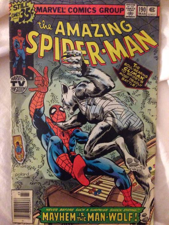 The Amazing Spider-man - 190 cover
