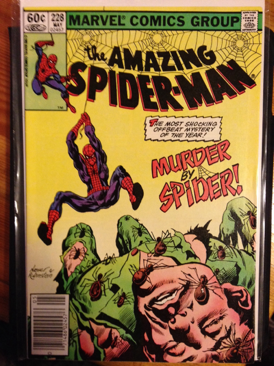 The Amazing Spider-man - 228 cover