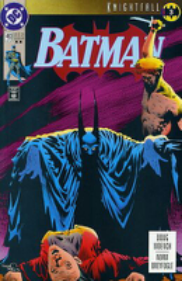 Batman - 493 cover