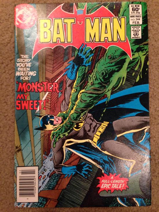Batman - 344 cover