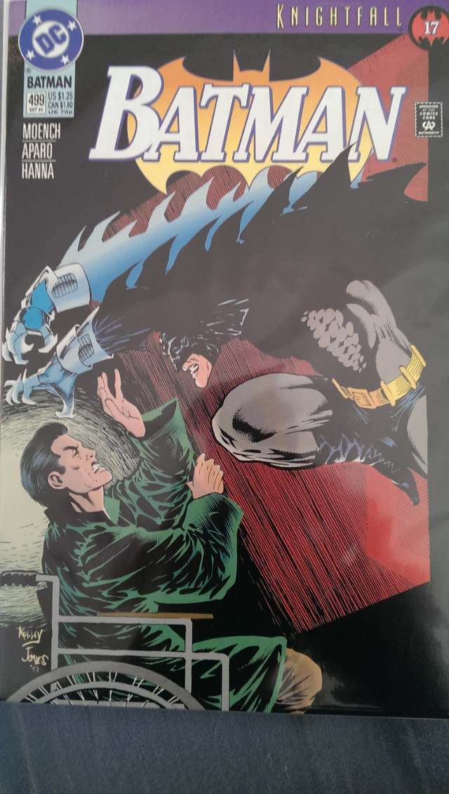 Batman - 499 cover