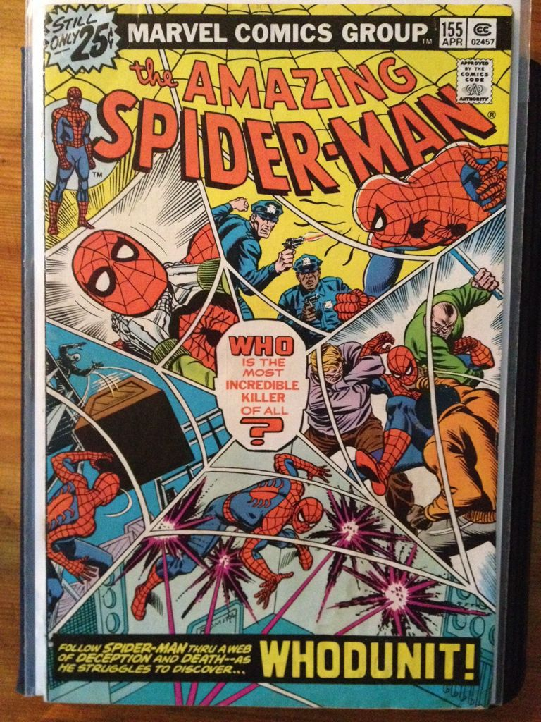 The Amazing Spider-man - 155 cover
