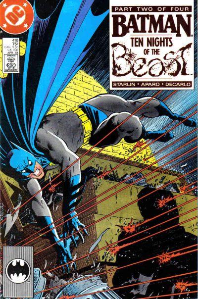 Batman - 418 cover