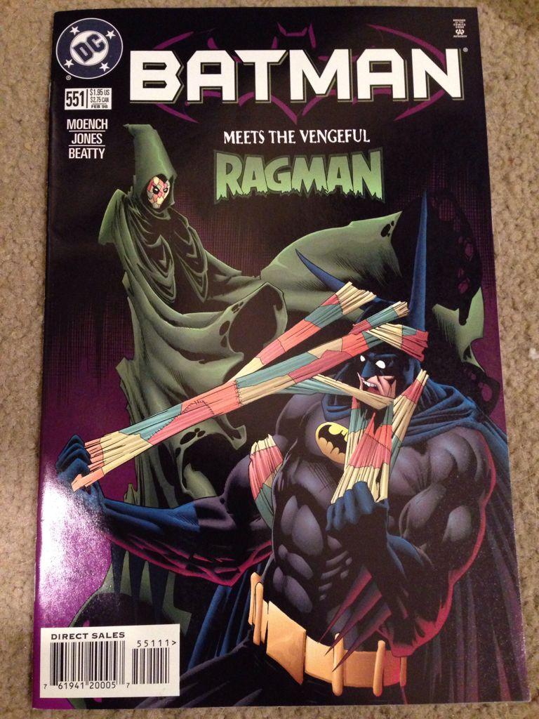 Batman - 551 cover