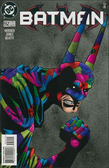 Batman - 552 cover