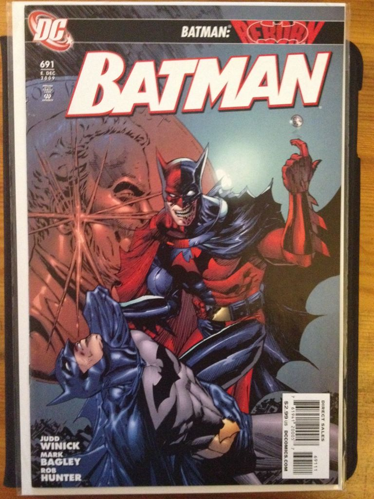 Batman - 691 cover