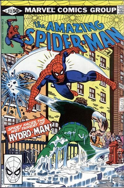 The Amazing Spider-man - 212 cover