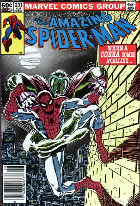 The Amazing Spider-man - 231 cover
