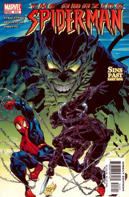 The Amazing Spider-man - 513 cover