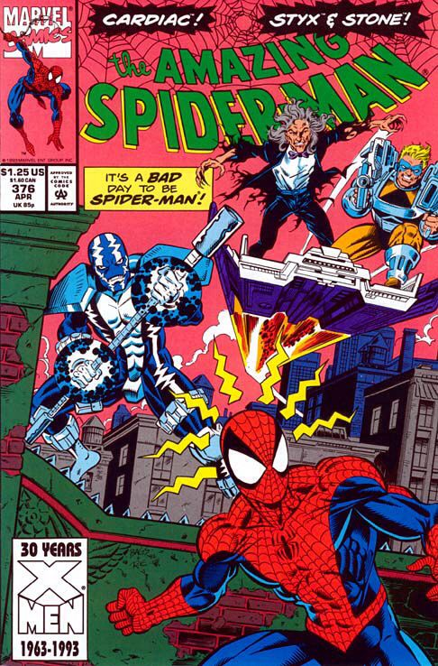 The Amazing Spider-man - 376 cover