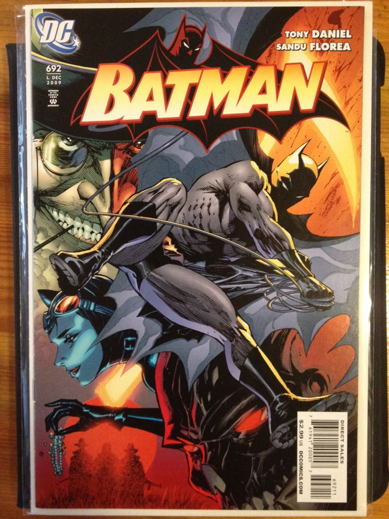 Batman - 692 cover