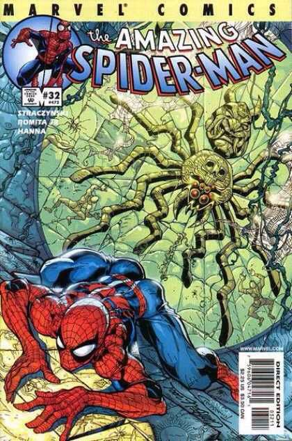The Amazing Spider-man - 473 cover