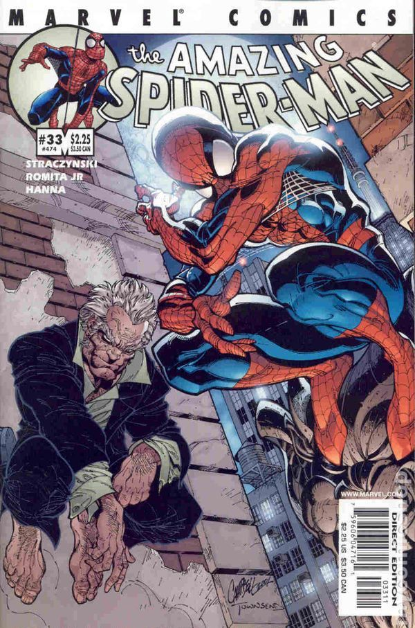 The Amazing Spider-man - 33 cover