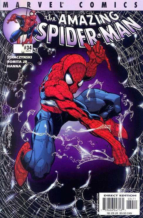 The Amazing Spider-man - 34 cover