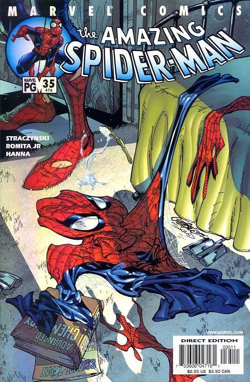 The Amazing Spider-man - 35 cover