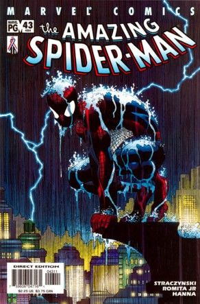 The Amazing Spider-man - 43 cover