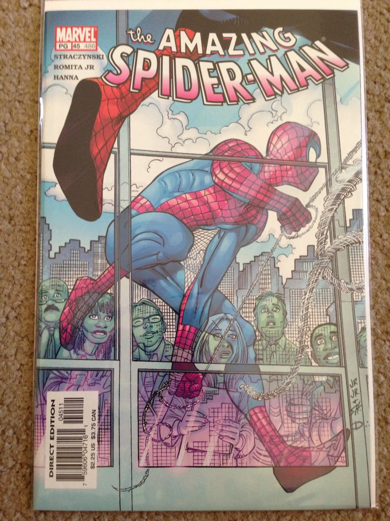 The Amazing Spider-man - 45 cover