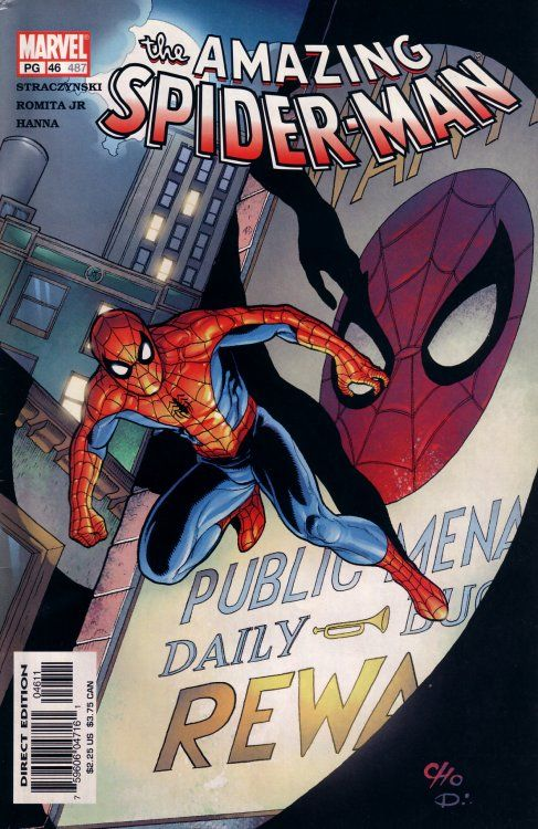 The Amazing Spider-man - 46 cover