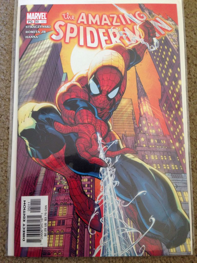 The Amazing Spider-man - 50 cover