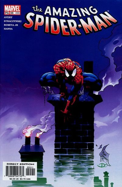 The Amazing Spider-man - 496 cover