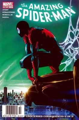 The Amazing Spider-man - 497 cover