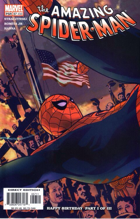 The Amazing Spider-man - 57 cover