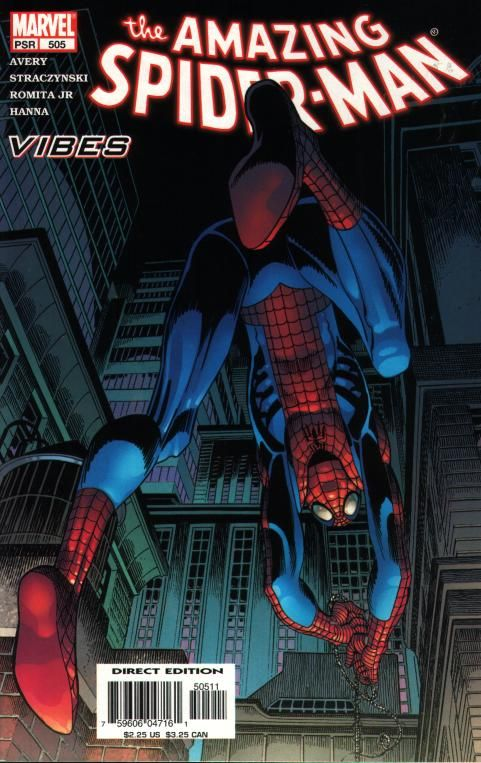 The Amazing Spider-man - 505 cover