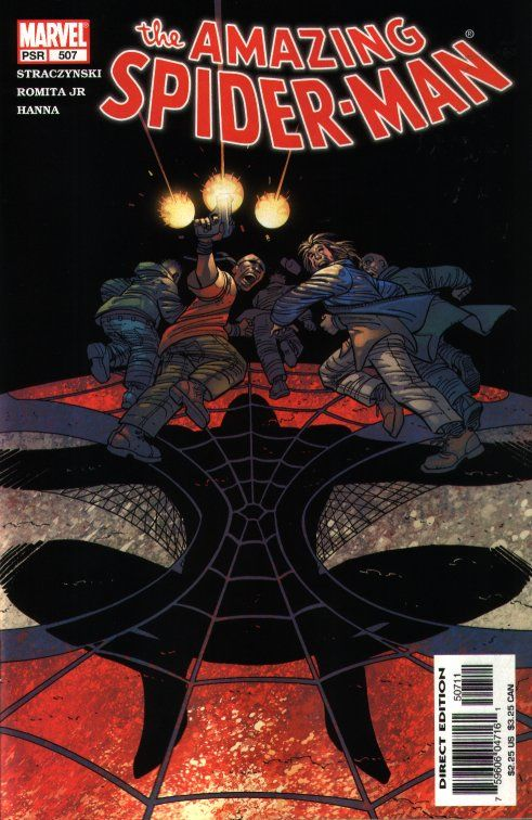 The Amazing Spider-man - 507 cover