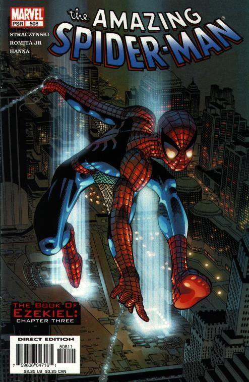 The Amazing Spider-man - 508 cover