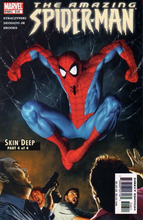 The Amazing Spider-man - 518 cover