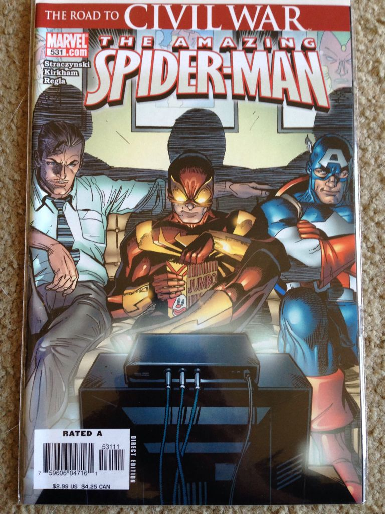 The Amazing Spider-man - 531 cover