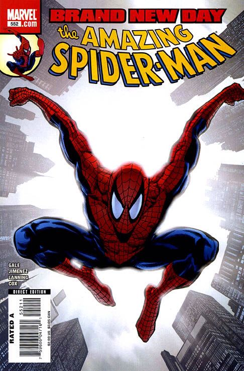 The Amazing Spider-man - 552 cover