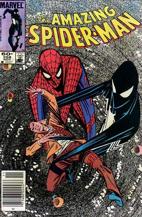 The Amazing Spider-man - 258 cover