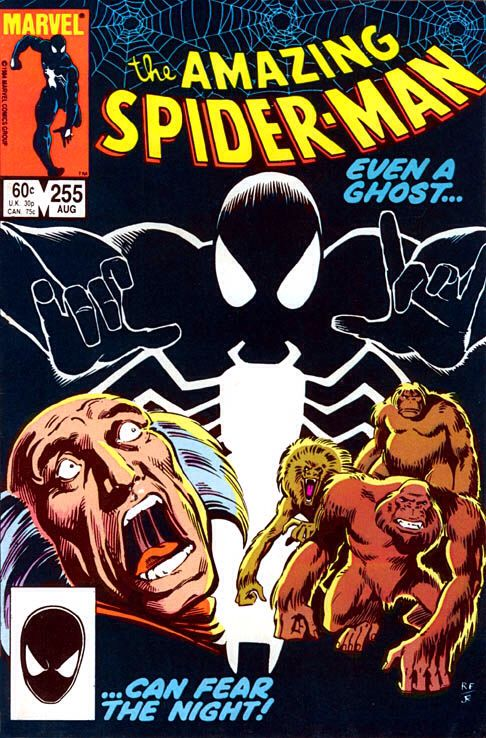The Amazing Spider-man - 255 cover