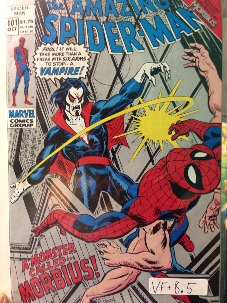 The Amazing Spider-man - 101 cover