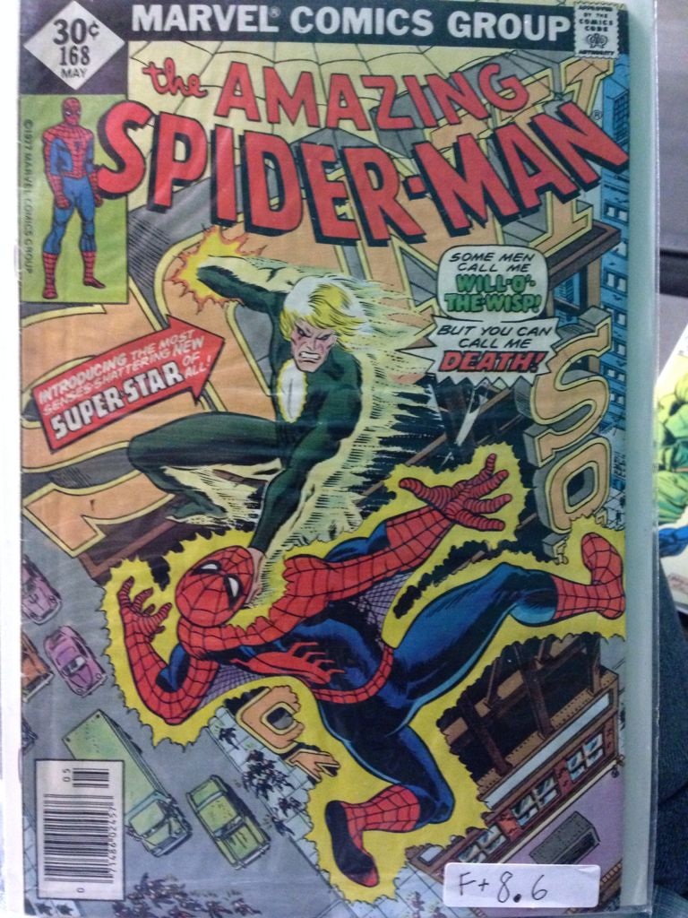The Amazing Spider-man - 168 cover