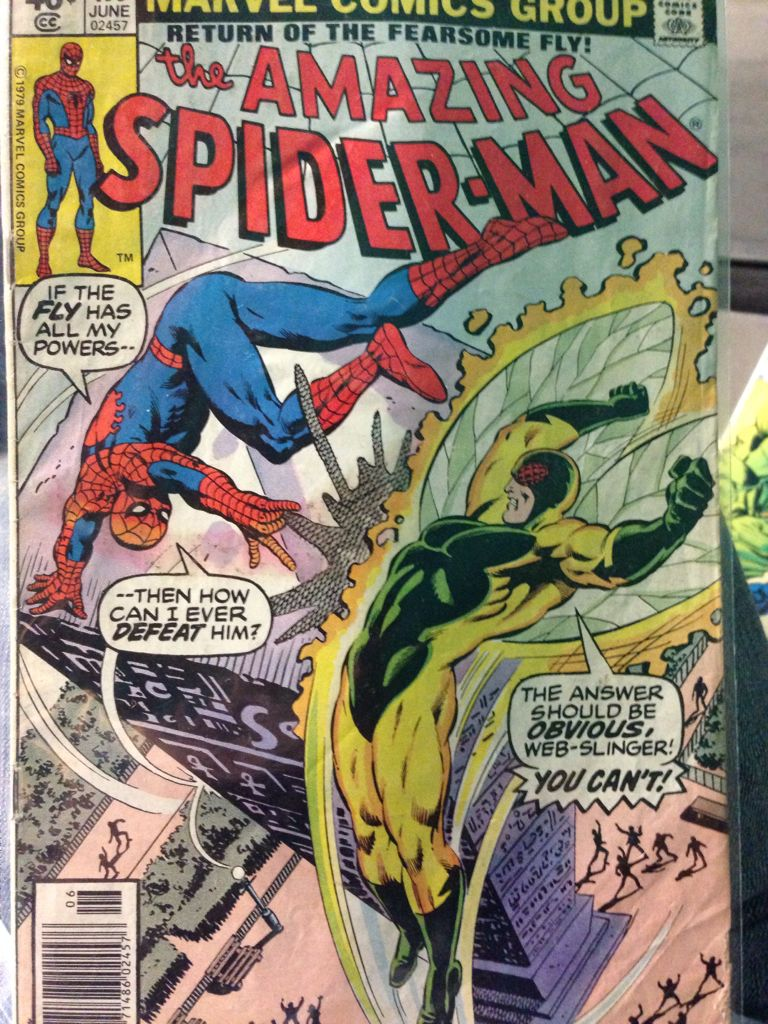The Amazing Spider-man - 193 cover