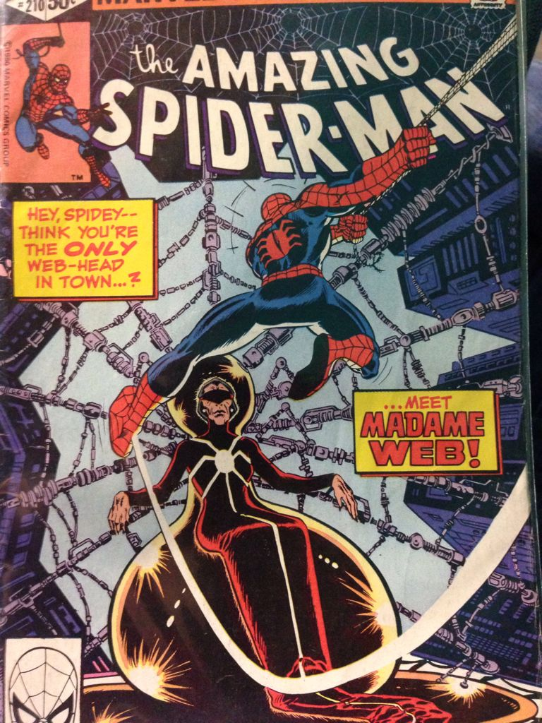 The Amazing Spider-man - 210 cover