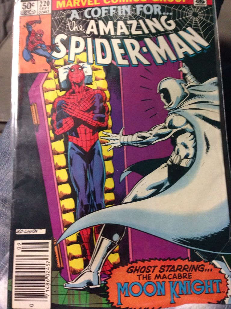 The Amazing Spider-man - 220 cover