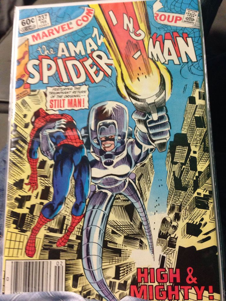 The Amazing Spider-man - 237 cover