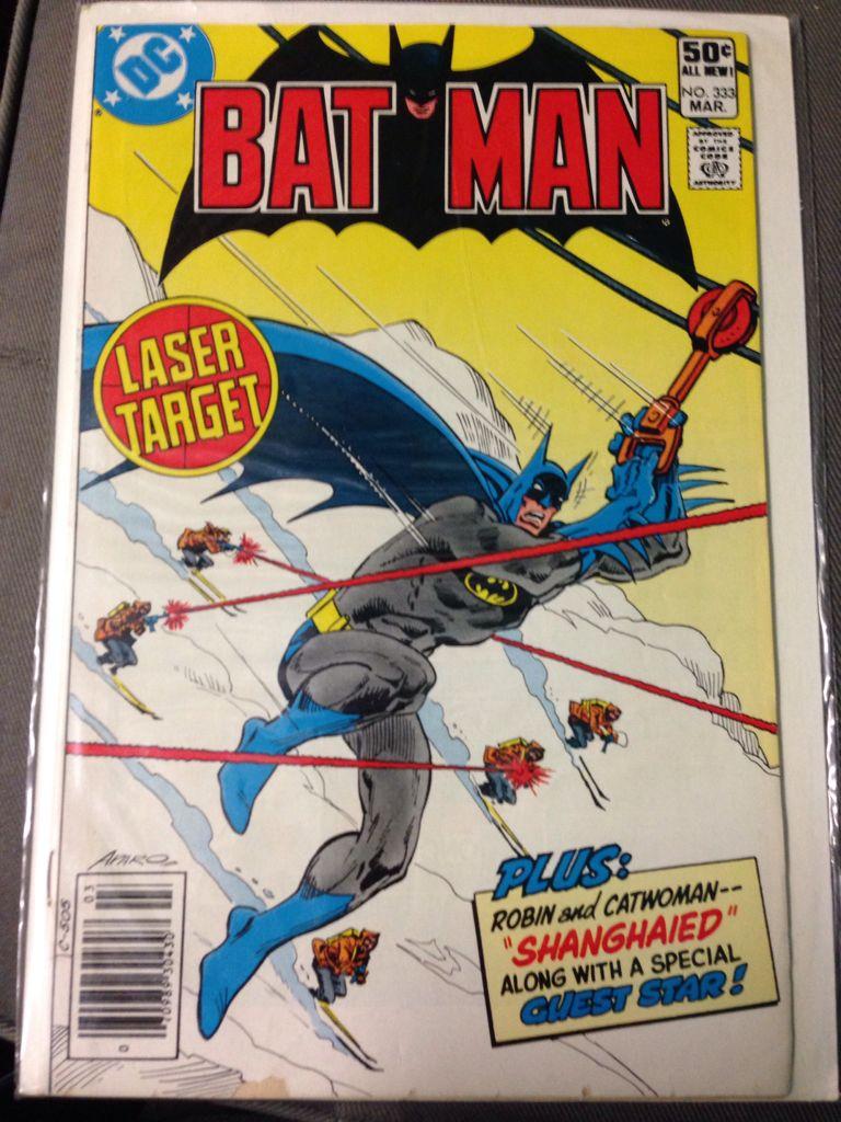 Batman - 333 cover