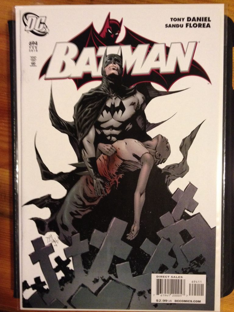 Batman - 694 cover