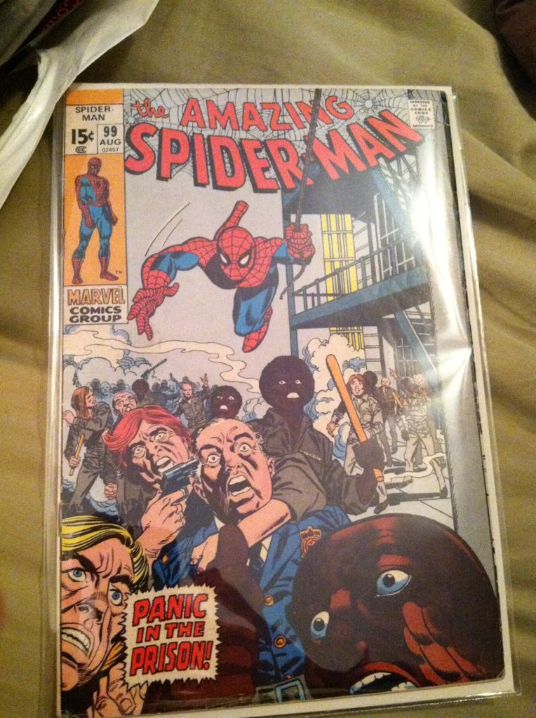 The Amazing Spider-man - 99 cover