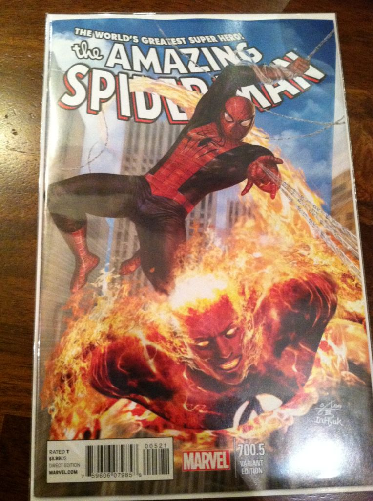 The Amazing Spider-man - 700.5 cover