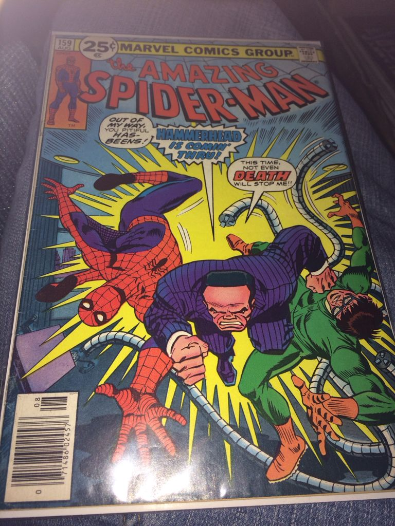 The Amazing Spider-man - 159 cover